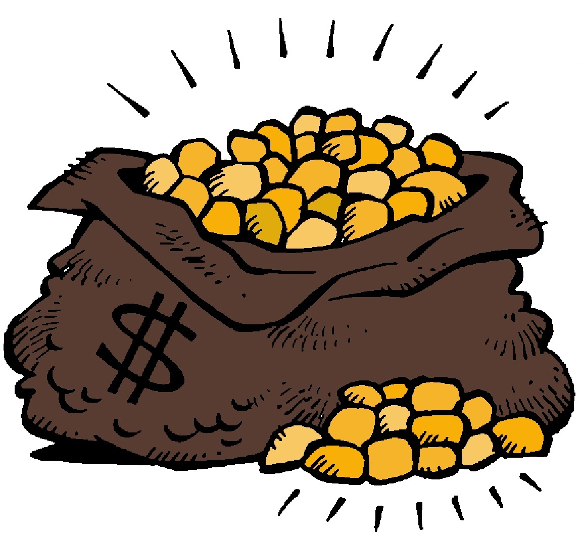 Gold Rush Clipart.
