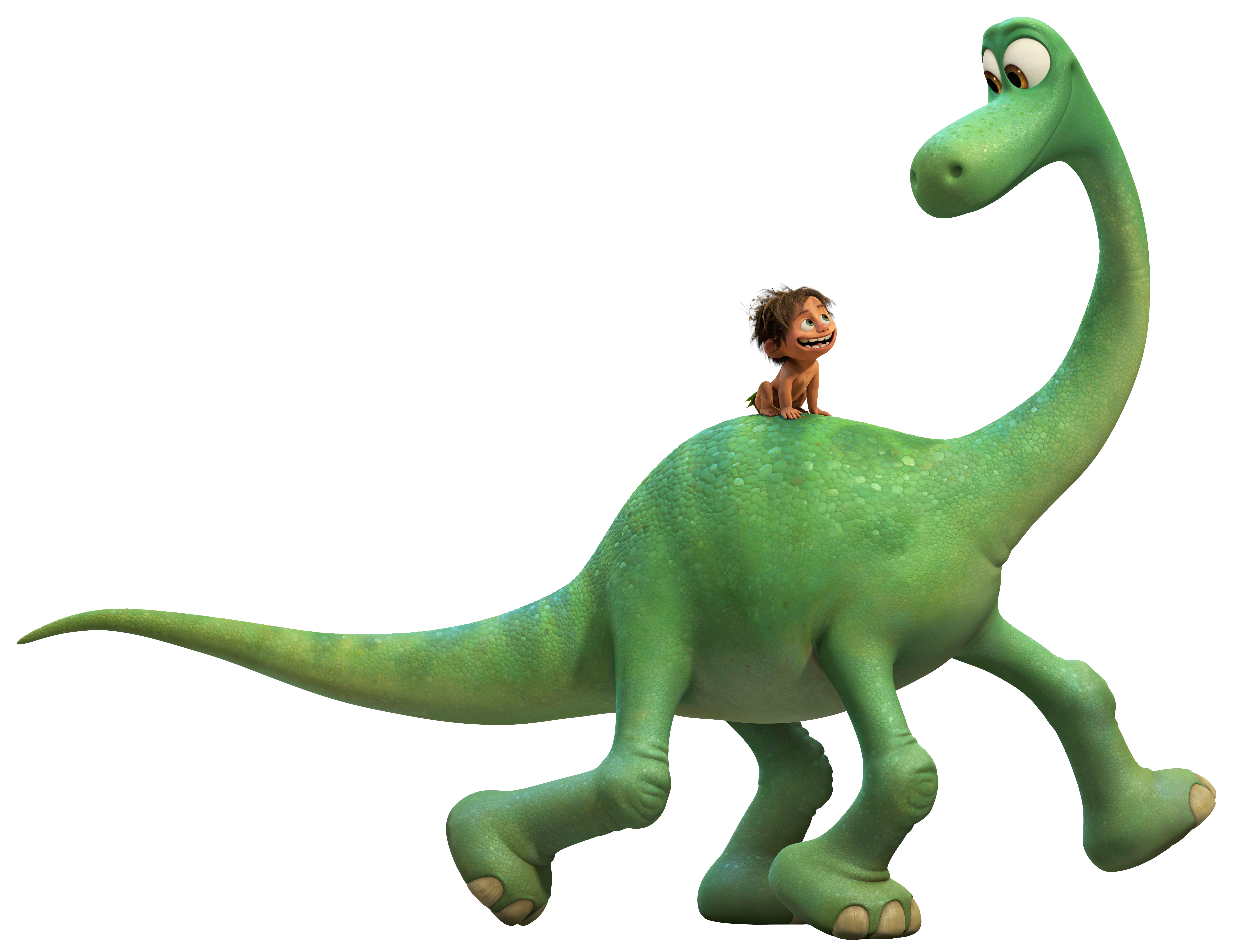 The Good Dinosaur PNG Clip Art Image.