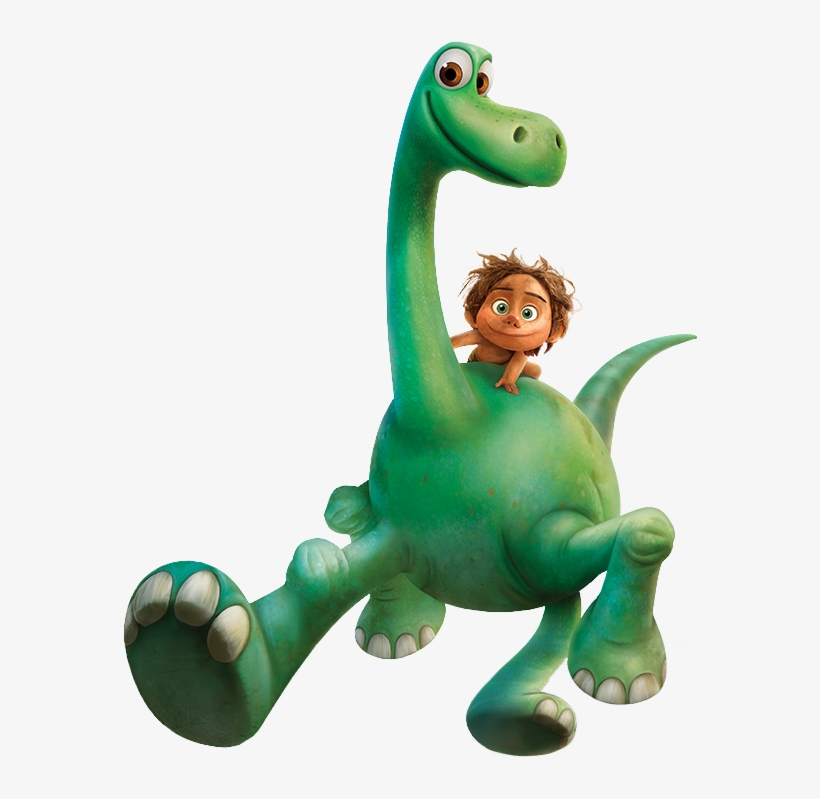 The Good Dinosaur Spot And Arlo Render.