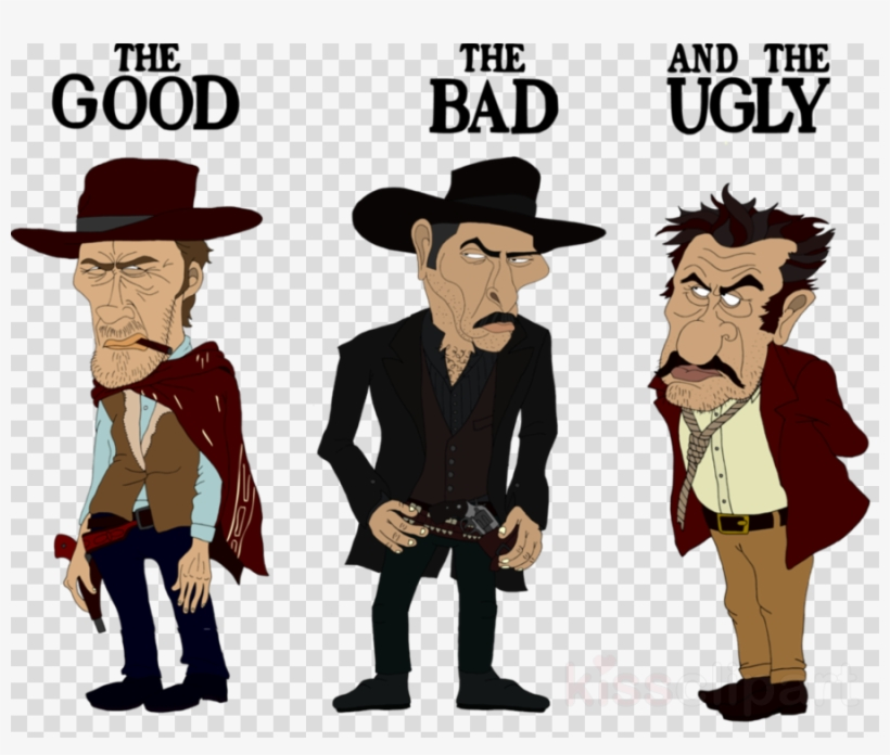 Good The Bad And The Ugly Png Clipart Tuco Man With PNG.