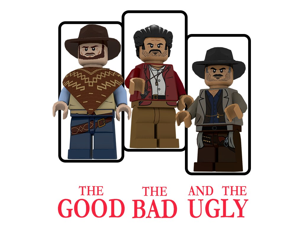 The Good, the Bad and the Ugly (Poster 1).