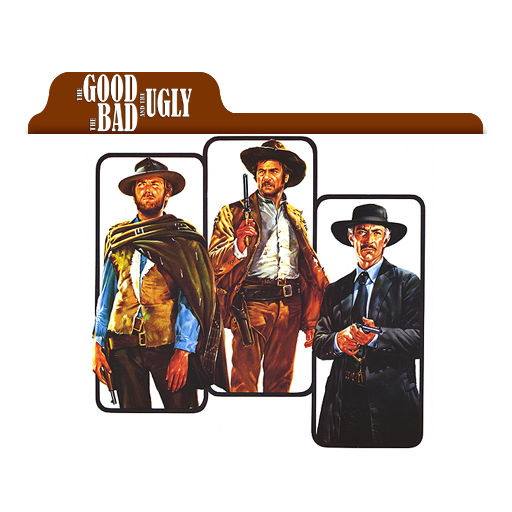 The Good ,The Bad and The Ugly Folder Icon by AymanB5 on.