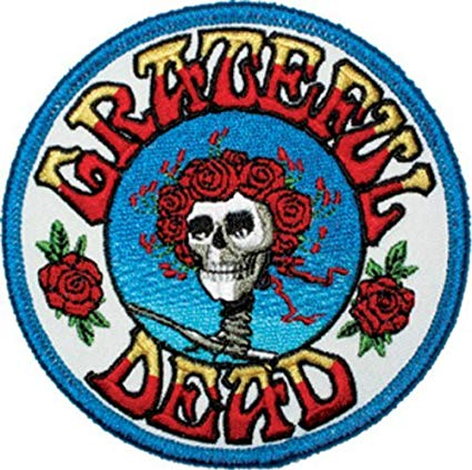 Amazon.com: GRATEFUL DEAD Skull and Roses Logo PATCH.