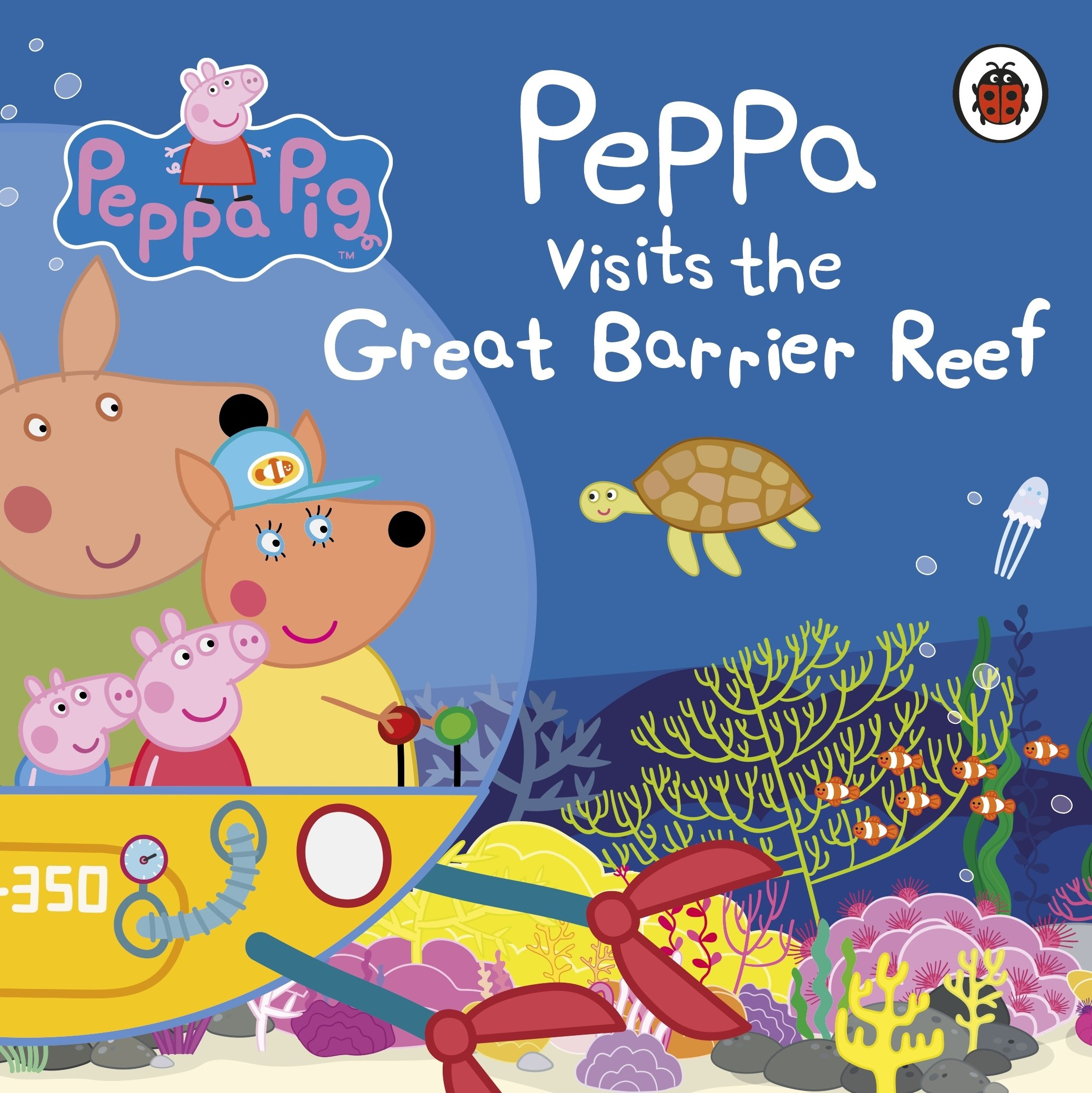 Buy Peppa Pig: Peppa Visits the Great Barrier Reef Book.