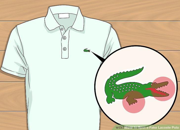 3 Ways to Spot a Fake Lacoste Polo.