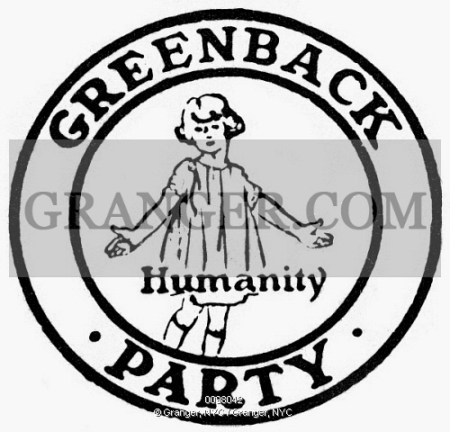 Image of SEAL: GREENBACK PARTY..