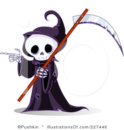 Grim Reaper Clipart.