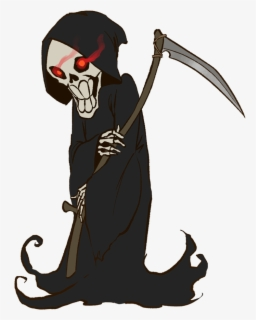 Free Grim Reaper Clip Art with No Background.