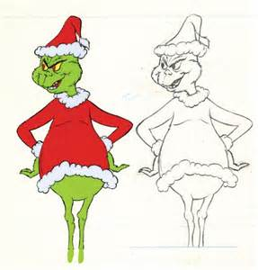 the grinch full body clipart #10