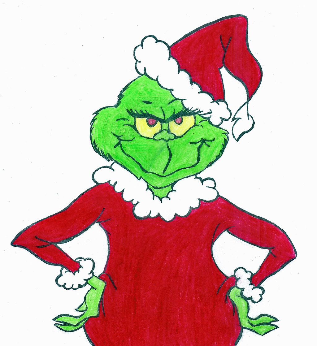 the grinch full body clipart #19