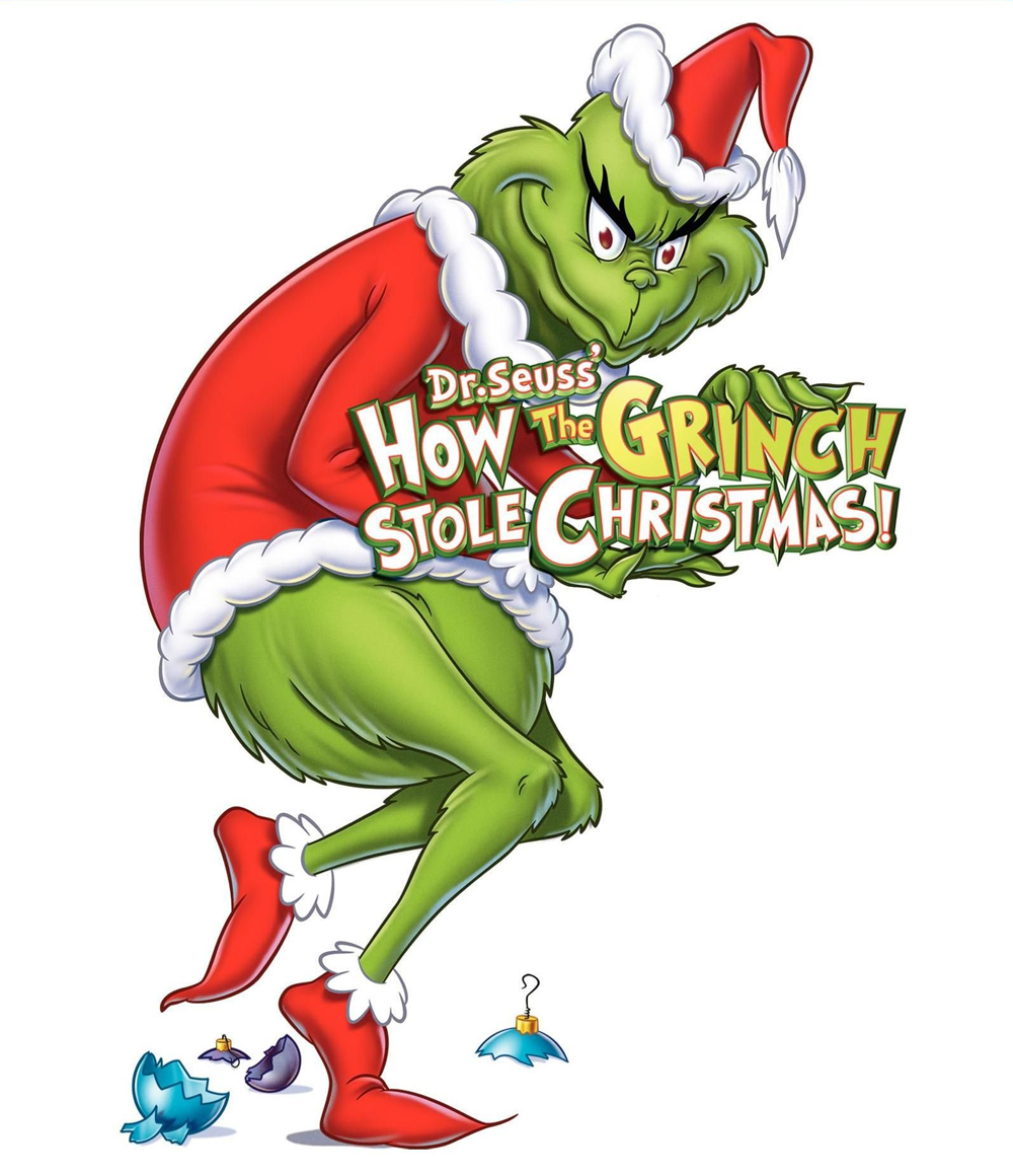 Grinch Full Body Clip Art.