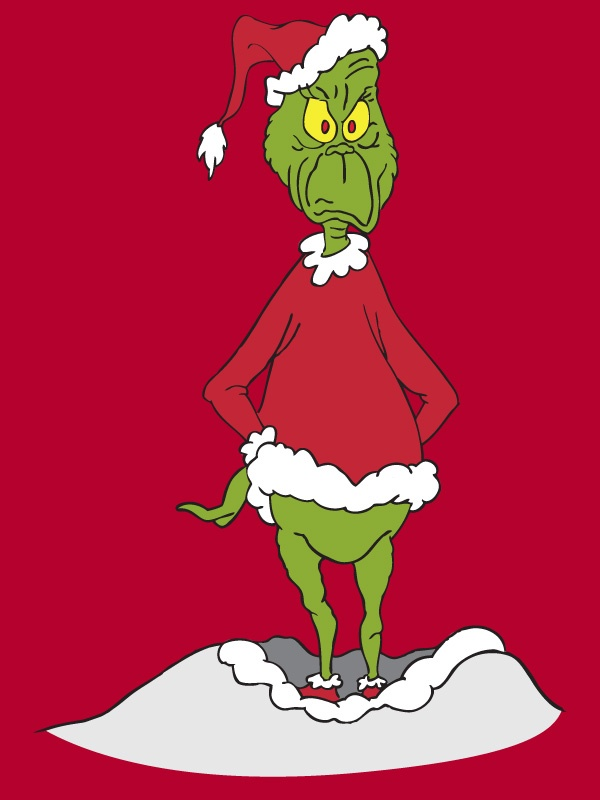 the grinch full body clipart #15