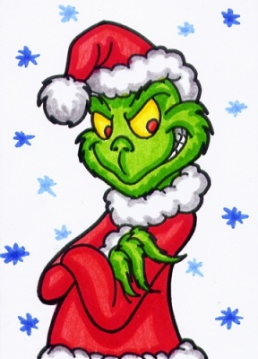 the grinch full body clipart