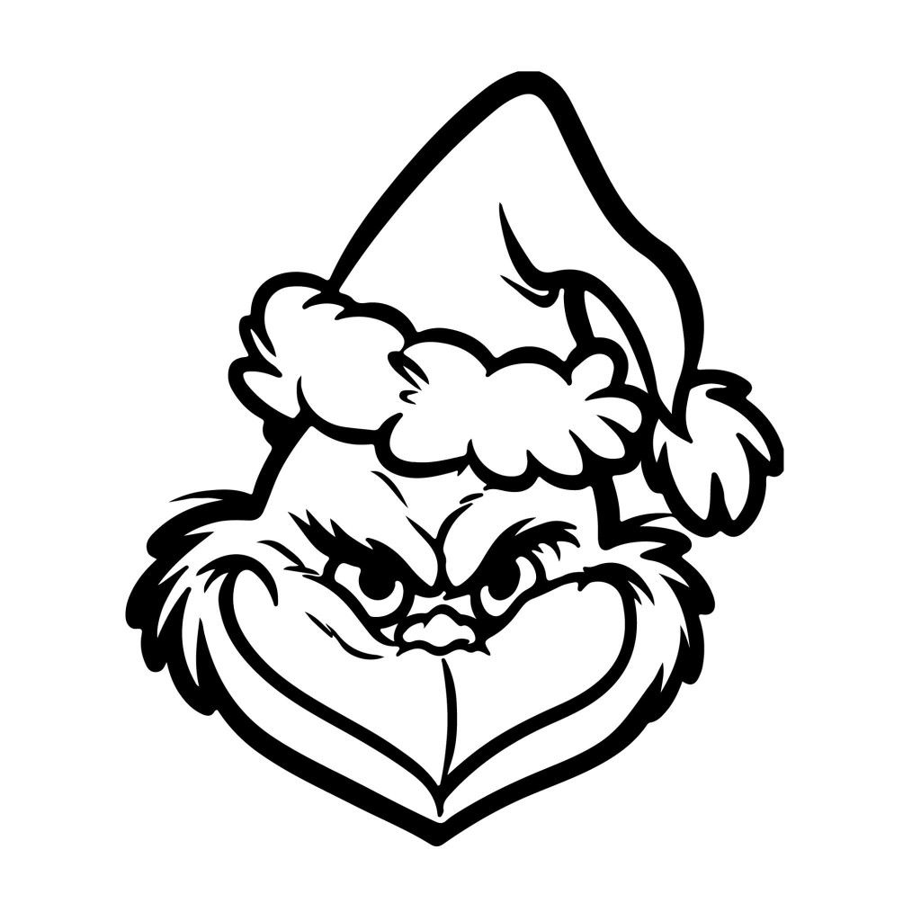 Grinch Christmas hat.