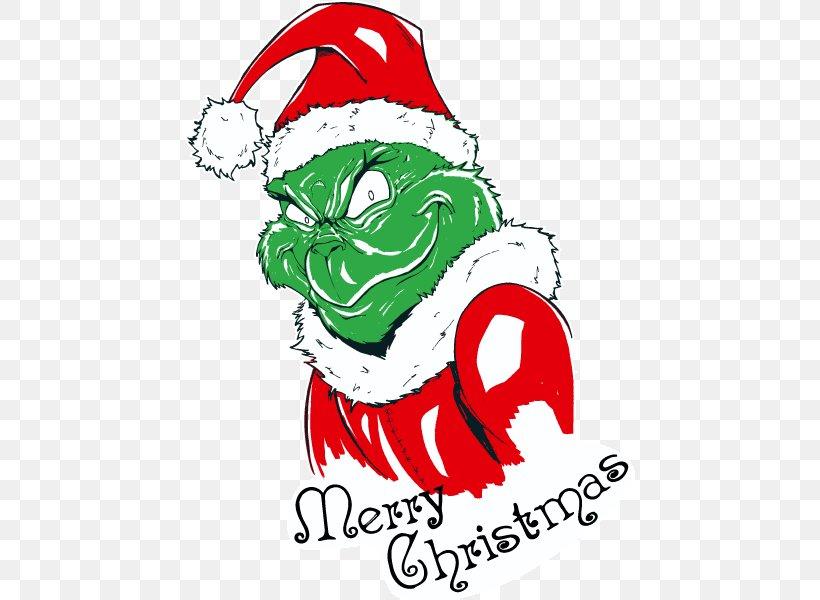 Clip Art How The Grinch Stole Christmas! Santa Claus.