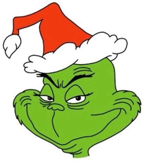 Santa Hat clipart grinch.