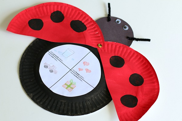 The Grouchy Ladybug Craft for Kids (with Free Printable).