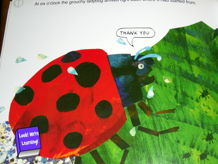 Printable Activities for the Grouchy Ladybug.