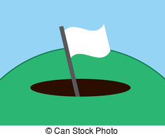 Hole in the ground clipart.