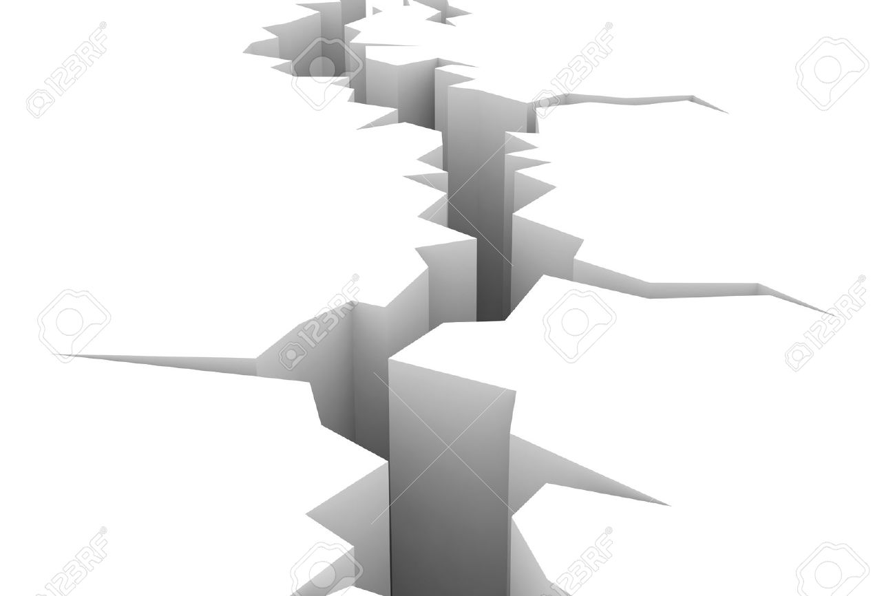 Earthquake crack clipart png.