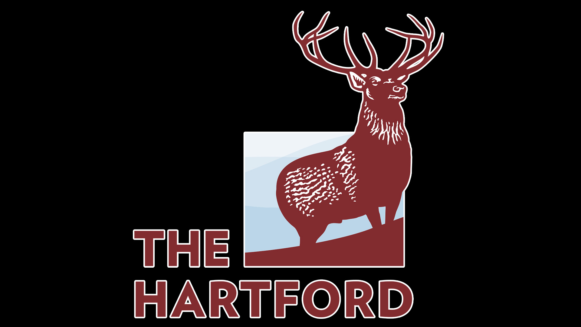 Meaning Hartford Insurance logo and symbol.