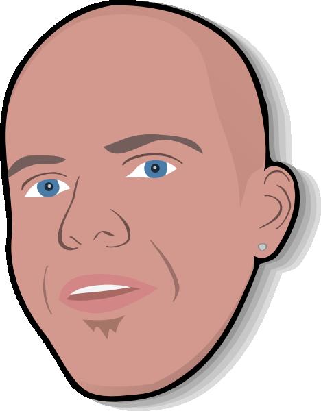 Man Head clip art Free Vector / 4Vector.