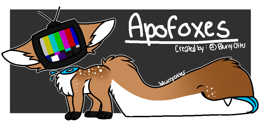 Apofox Information and Traits (READ BELOW) by BlurryOtter on.