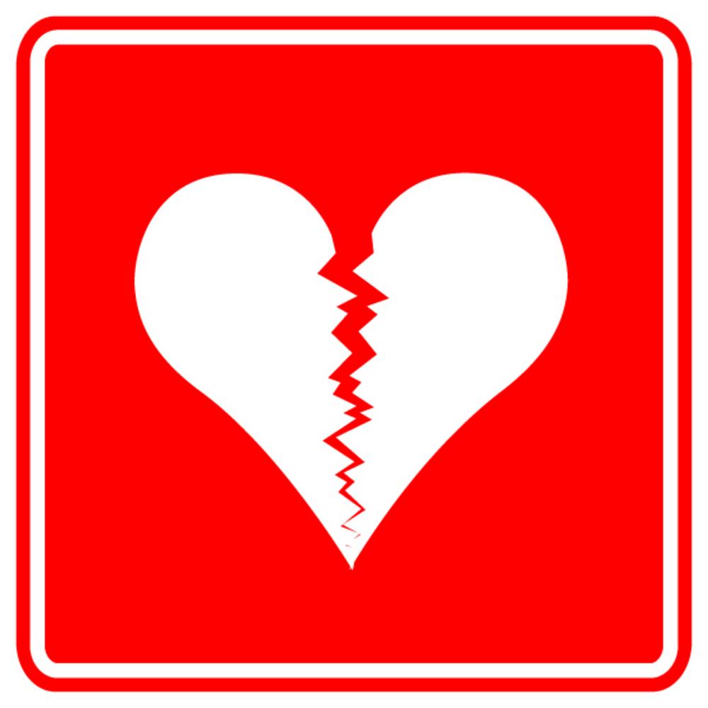Broken Heart Cartoon.