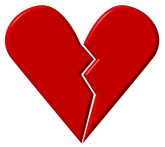 Heartbroken Clipart Hd.