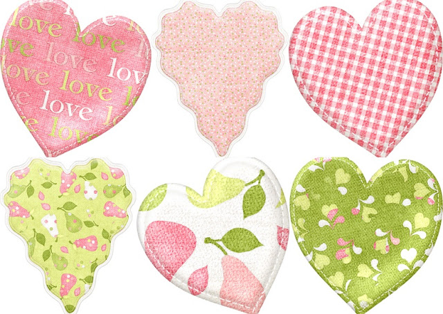 Hearts of the Perfect Pair Clipart..