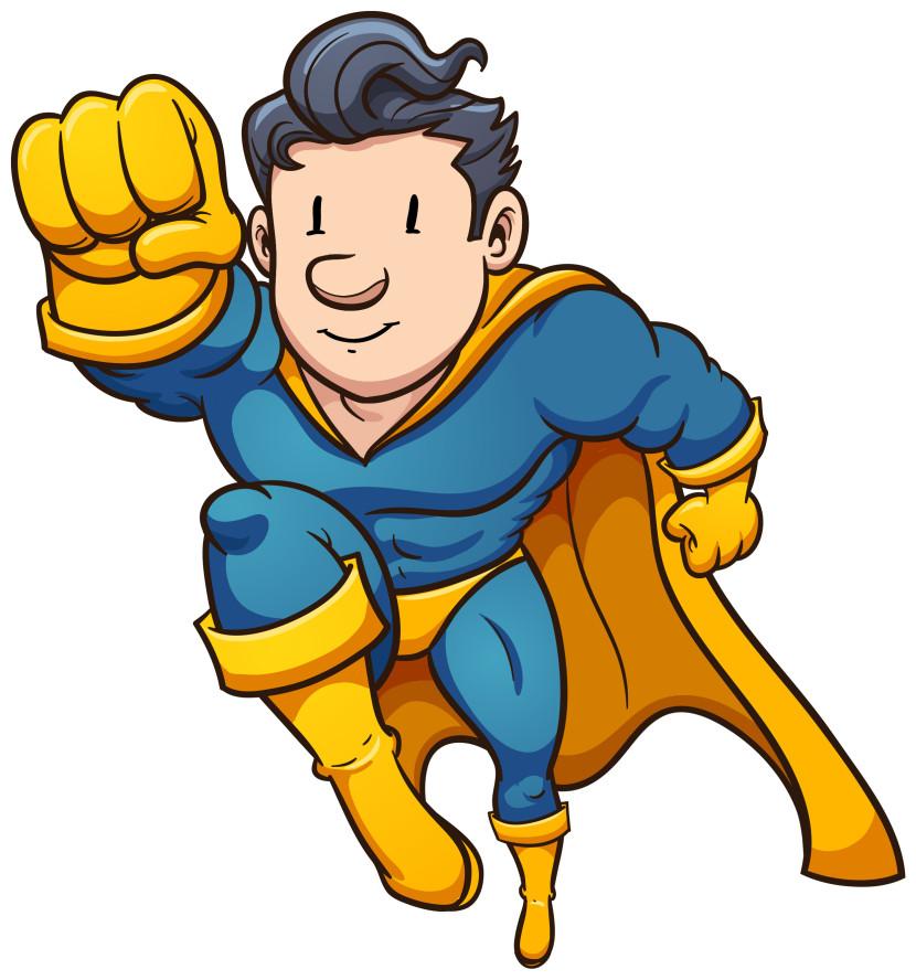 Best hero clipart.