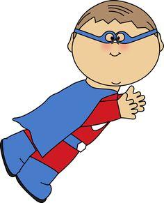 Free Super hero Clip Art Borders.
