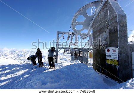 Ski Gondola Stock Photos, Royalty.