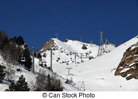 Picture of ski lift.