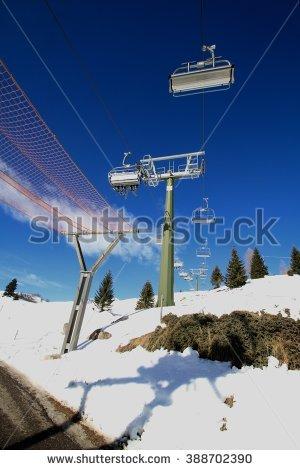 Skilift Stock Photos, Royalty.