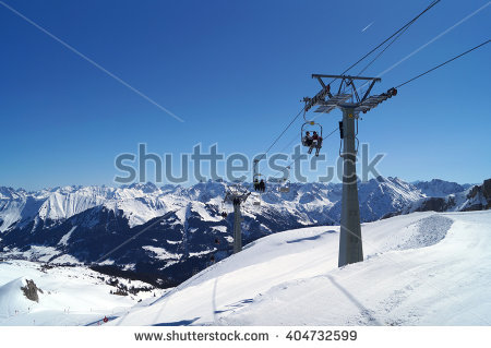 Ski Lift Stock Photo 404732599.