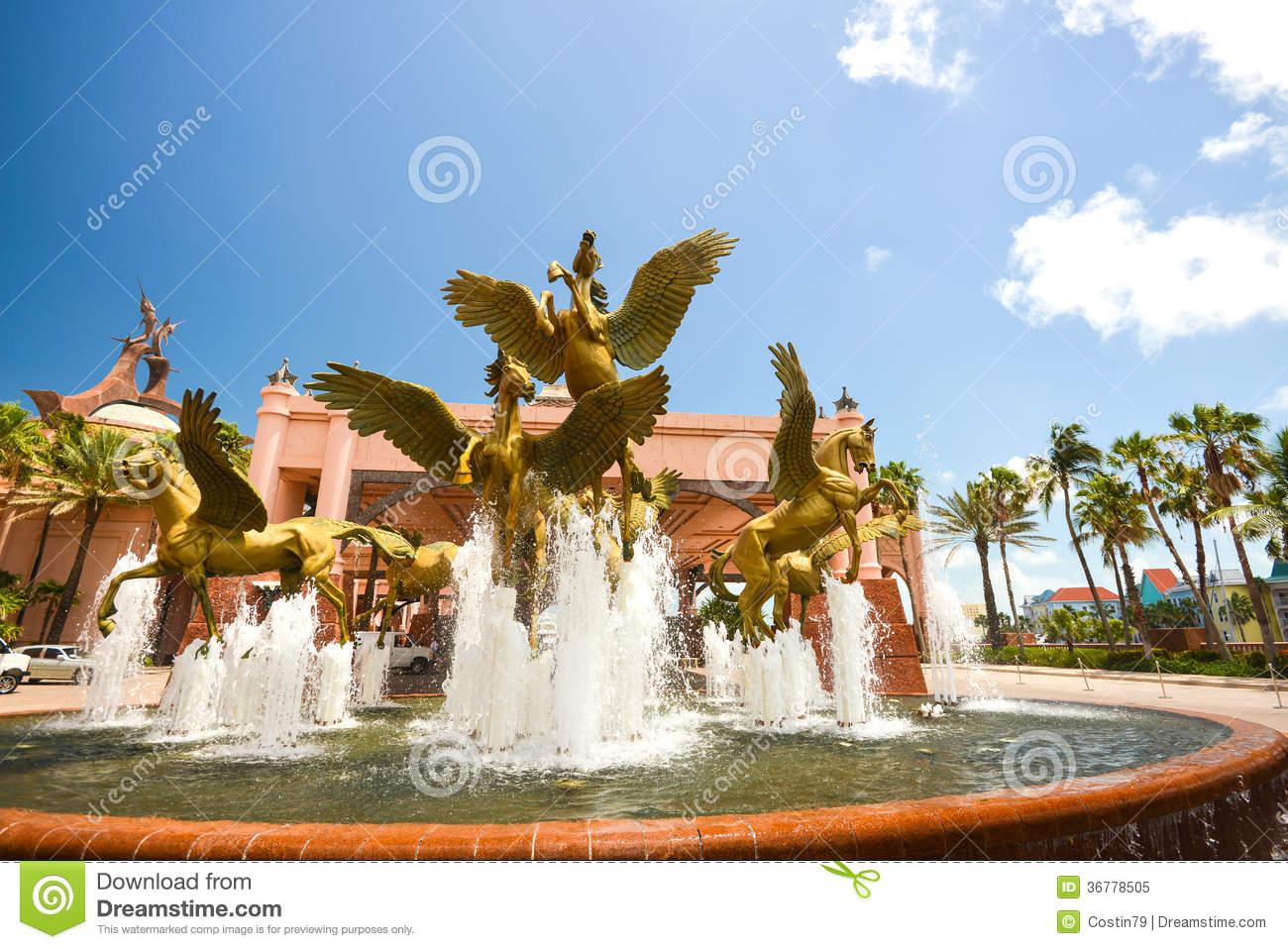 Atlantis Fountain.