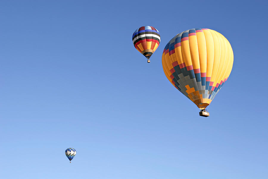 Hot Air Balloon Ride A Special Adventure Photograph by Christine Till.
