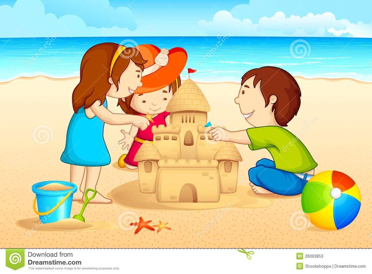 Sand House Clipart.