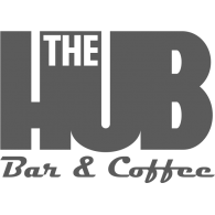 The HUB Bar & Coffee Logo Vector (.CDR) Free Download.