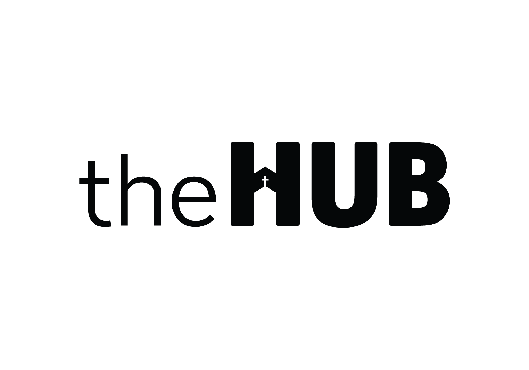 Hoog Design/Project/The Hub church branding.