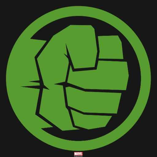 Incredible Hulk Logo.