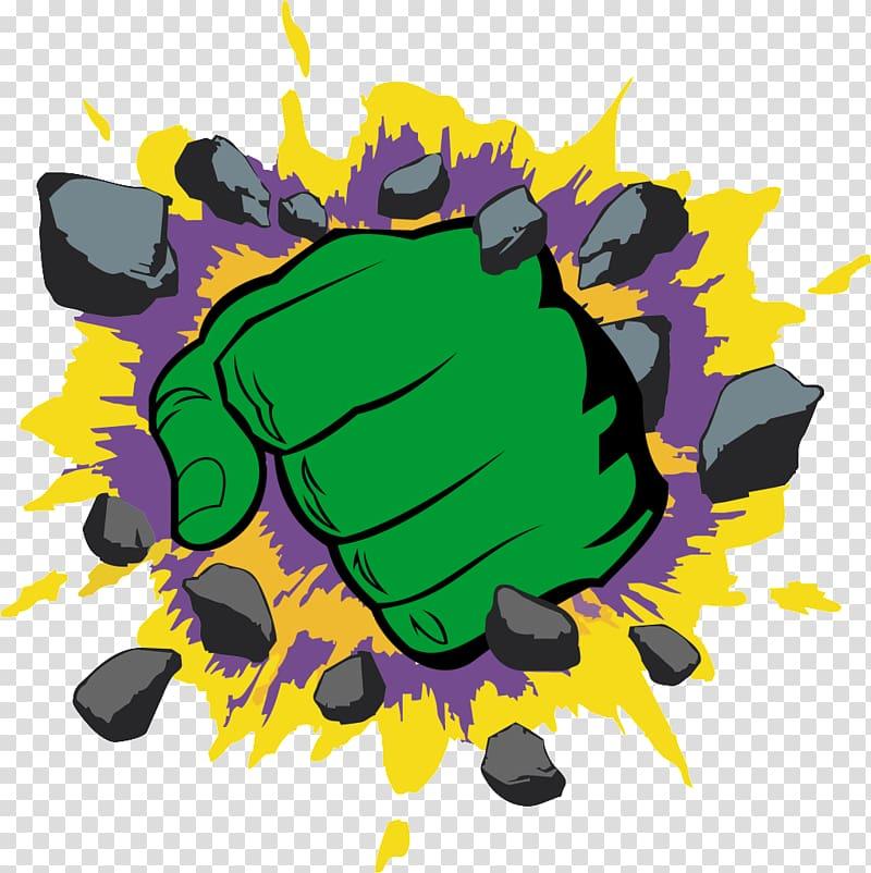 Hulk hand , Hulk YouTube Spider.