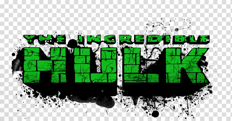 The Incredible Hulk logo, Bruce Banner She.