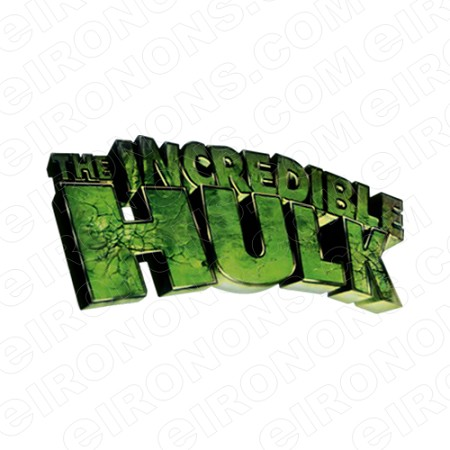 THE INCREDIBLE HULK LOGO COMIC T.