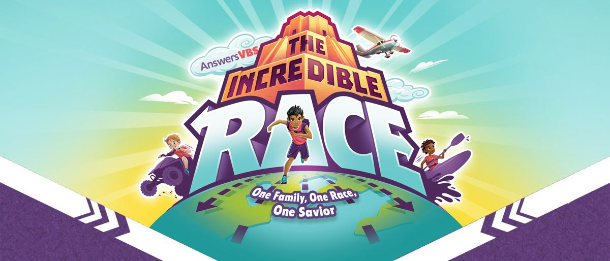 VBS 2019 Theme: The Incredible Race.
