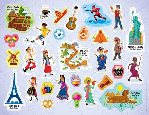Theme Sticker Sheet.