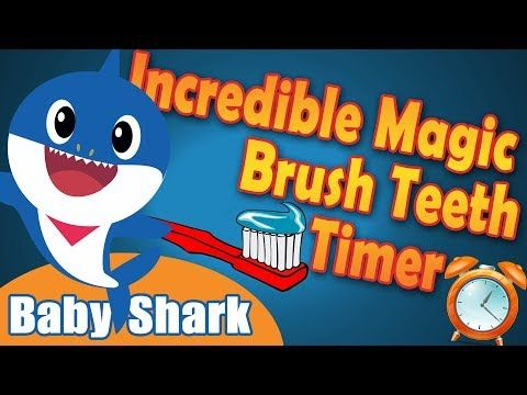 Incredible Magic Tooth Brushing Timer (Baby Shark).
