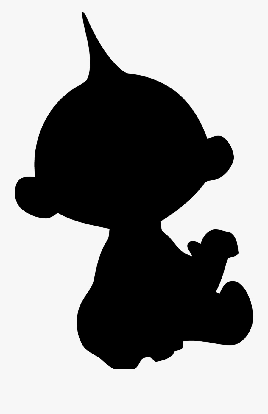 Jack Jack Incredibles Silhouette , Free Transparent Clipart.