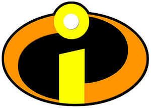 Details about THE INCREDIBLES LOGO, iron on T.